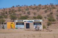 Auch bei den Hereros gibt es Shopping Malls
