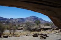 Diesen tollen Ausblick hatten unsere Vorfahren aus ihrer Wohnung.