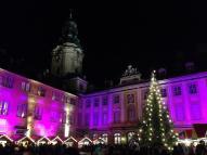 Weihnachtlich gemütlich, der Markt auf der Heidecksburg.