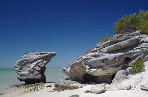 ... und ein paar schöne Steine.