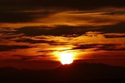 Nach einem fantastischen Sonnenuntergang in der Namib...