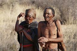 Leben im Busch: Kordman mit seiner Frau