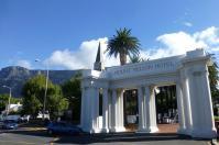 Direkt am Fuß des Tafelberges liegt das Mount Nelson Hotel...