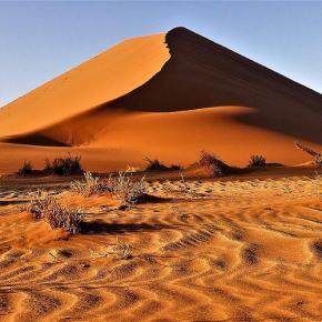 Auf Abschiedstour durch Namibia