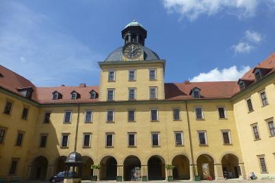 Bei einem Besuch in der Zeitzer Moritzburg...