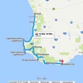 Statistik Australien Teil 1, Perth - Albany