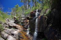 Es ist heiß im Grampians-Nationalpark, die meisten Wasserfälle sind am Versiegen...