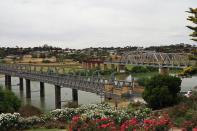 In Murray Bridge wurde die erste Brücke über den Murray River gebaut.