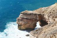 Die Natural Bridge im Kalbarri Nationalpark...