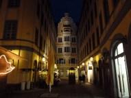 Leipzig bei Nacht – die Straßen werden dann doch etwas leerer.