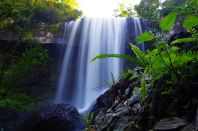 L005 Zillie-Falls in den Atherton Tablelands, Australien