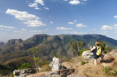 Fotosession am Blyde River Canyon.