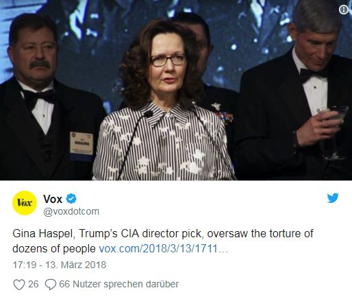 Image result for photos of gina haspel and mike pompeo