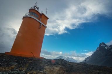 Leuchtturm Hvalnes, erbaut 1954, nordöstlich von Höfn
