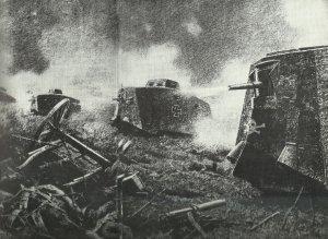 Angriff der Sturmpanzerwagen-Abteilung