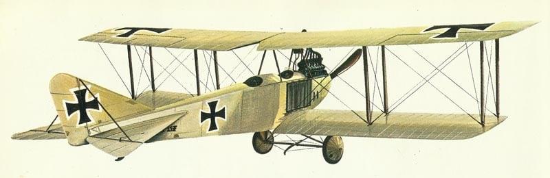 Modell Albatros B.II