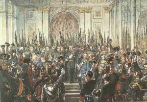 Proklamation des Deutschen Reich