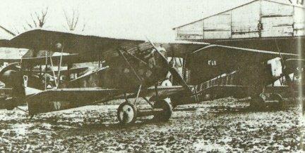 Drei Fokker D.VII von Jasta 2