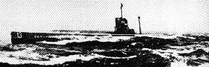 Altes Unterseeboot U-9