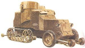 Austin-Putilow Halbketten-Panzerwagen