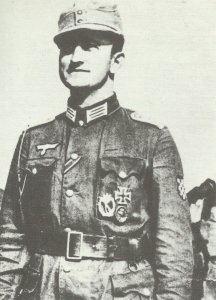 Hauptmann der deutsch-kroatischen Legion