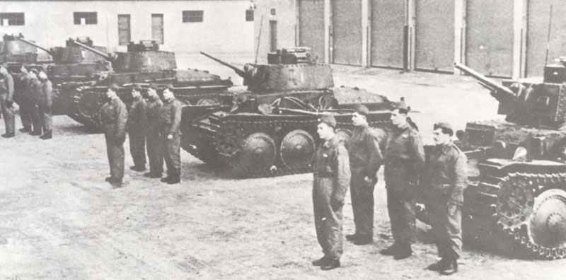 LT vz38 Panzer der slowakischen Armee