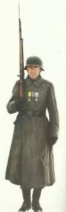 Französischer Infanterist der 'Legion Volontaire Francaise'