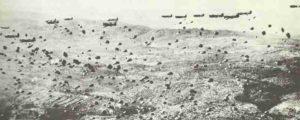 Absprung US-Fallschirmjäger Südfrankreich