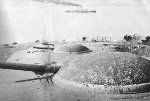 Artilleriekuppeln von Ttsingtau