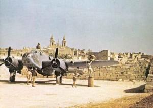 Bristol Beaufort Torpedobomber auf Malta.
