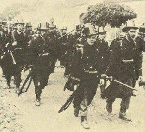 Belgium troops 1914
