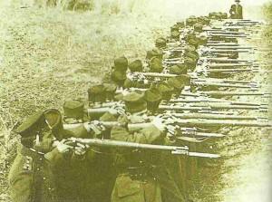 Serbische Linieninfanterie
