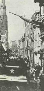 Ankunft alliierter Truppen in Eindhoven