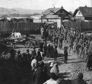 österreich-ungarische Gefangene in Polen