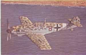 Bf 109 E-4/Trop von Jagdgeschwader JG 27