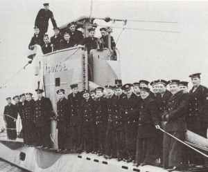 Die Besatzung des polnischen U-Bootes Sokol