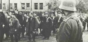 Gefangene Warschauer Aufstand