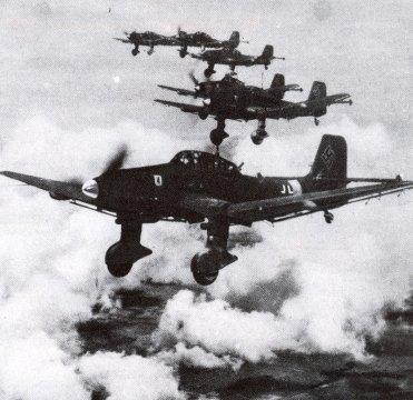 Junkers Ju 87 B im Polenfeldzug 1939