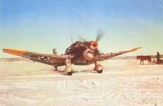 Mit Winterttarnanstrich versehener Junkers Ju 87 B Sturzkampfbomber