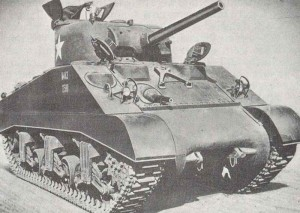 Standard-Modell des M4A3 Sherman