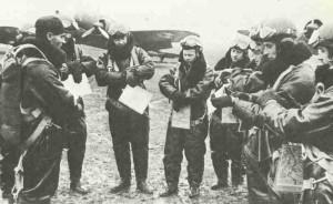 Polnische P-37 LOs-Bomber vor dem Einsatz