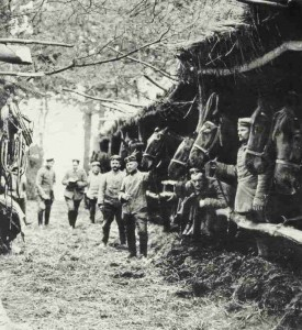 Pferdestall deutscher Kavallerie bei St. Mihiel