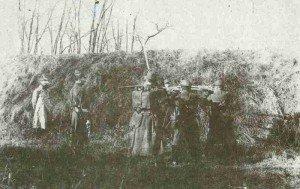 Franzosen erschiessen deutschen Kriegsgefangenen