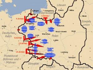 der Polenfeldzug vom 1. bis 7. September 1939