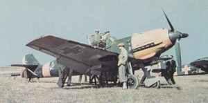 Bf 109 E der rumänischen Luftwaffe