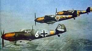 Deutsche und rumänische Bf 109 E