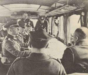 Verhandlungen über die Bedingungen der polnischen Kapitulation