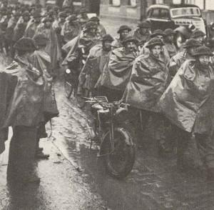 BEF trifft 1939 in Frankreich ein