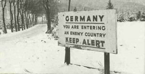 Germany - You are entering an enemy country