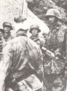 Soldaten der SS-Division Hitlerjugend in der Normandie